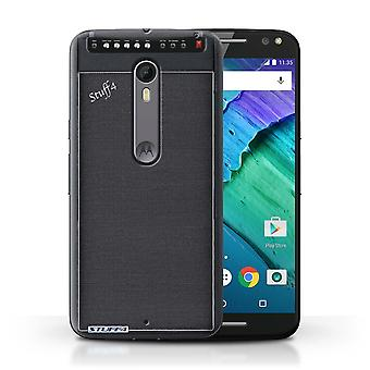 STUFF4 Case/Cover for Motorola Moto X Style/Amp/Amplifier/Speaker