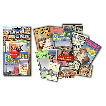 Seaside Holidays - Replica Memorabilia Pack