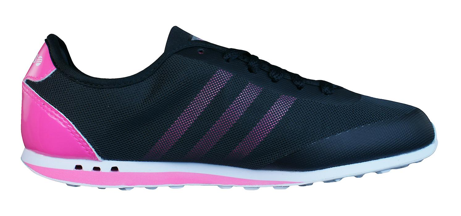 adidas Neo Style Racer TM Womens Trainers / Shoes - Black
