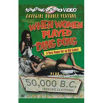 When Women Played Ding Dong50000 BC (Before Clothing) Movie Poster (11 x 17)