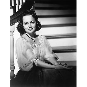 Olivia De Havilland Ca Early 1940S Photo Print