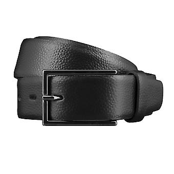 Bovino belts men's belts leather belt leather black 3527
