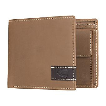 Camel active mens wallet portefeuille purse Cognac 4970