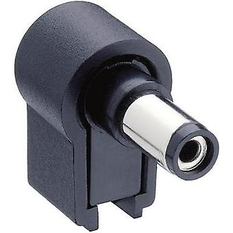 Low power connector Plug, right angle 5.5 mm 2.1 mm Lumberg NES/J 21 W 1 pc(s)