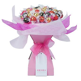Mothers Day Chocolate Bouquet - Pink Rose - Extra Large