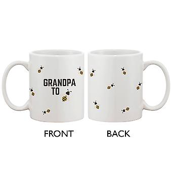 Grandpa To Bee Funny Coffee Mug Cute Design Printed Best Gift For Grandfather