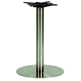 Pluto Round Coffee Stainless Steel Table Base
