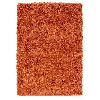 Terre cuite Orange tapis Shaggy Ontario