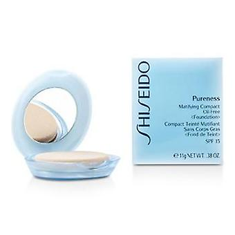 Pureness Matifying Compact Oil Free Foundation SPF15 (Case + Refill) - # 30 Natural Ivory - 11g/0.38oz