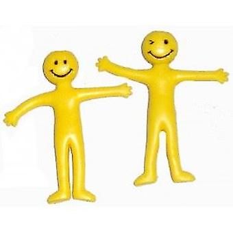 Yellow Stretchy Man - Value pack x 8