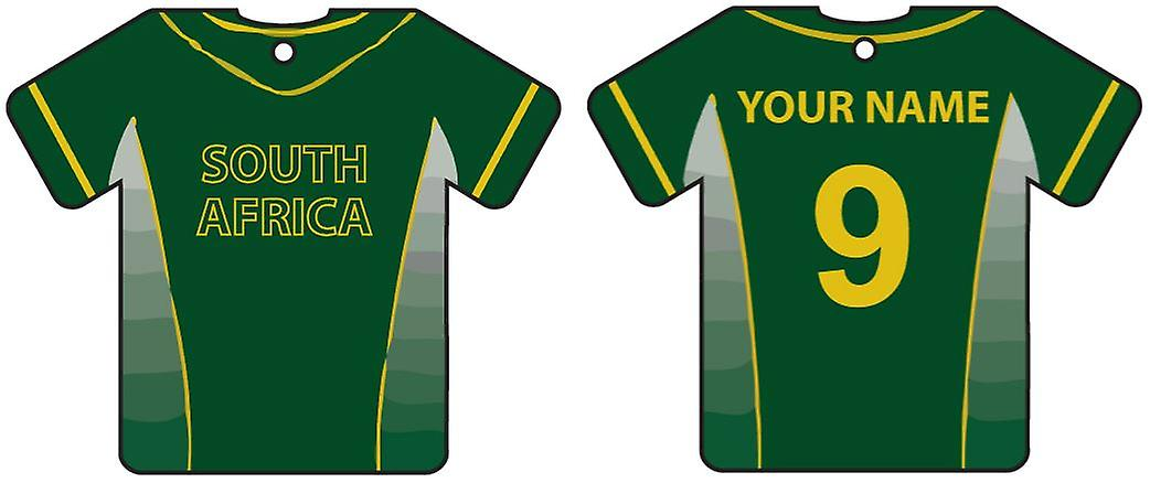 Personalised South Africa Cricket Car Air Freshener