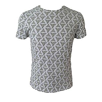 Assassin's Creed voksne mandlige Abstergo Logo All-Over Print T-Shirt ekstra store grå (TS090603ASC-XL)