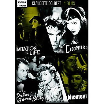 TCM Showcase: Claudette Colbert [DVD] USA import