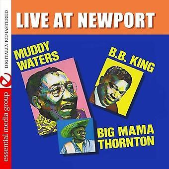Wasser, Muddy/B.B. König/Big Mama Thornton - Live at Newport [CD] USA Import