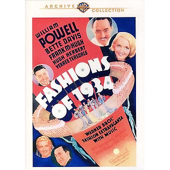 Fashions of 1934 [DVD] USA import