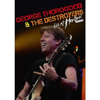 Thorogood, George & destroyere - Live i Montreux 2013 [DVD] USA import