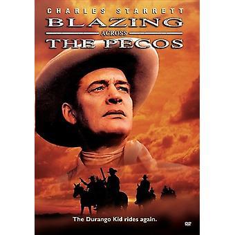 Blazing Across the Pecos [DVD] USA import