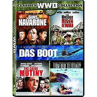 Bridge on the River Kwai / Caine Mutiny / Das Boot [DVD] USA import