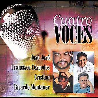 Montaner/Jose Jose/Cespedes/Cristian - Cuatro Voces [CD] USA import