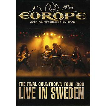 Europe - Final Countdown Tour: Live in Sweden 1986 [DVD] USA import