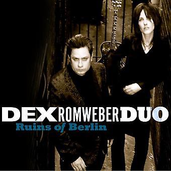 DEX Duo Romweber - ruinas de importación USA de Berlín [CD]