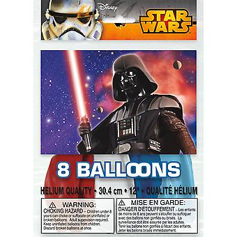 Star Wars Latex Balloons [8 Per Pack]