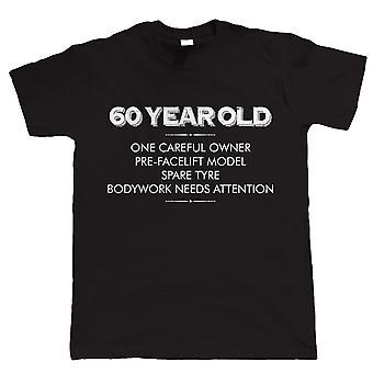 60-jaar-oude - een zorgvuldige eigenaar, Mens T-Shirt