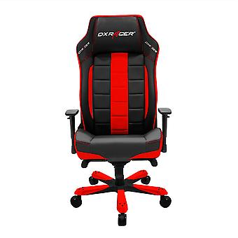 DX Racer DXRacer OH/CE120/NR High-Back Office Chair Leather Style Vinyl(Black/Red)