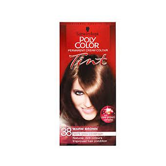 Schwarzkopf Poly colore tinta 38 marrone medio caldo