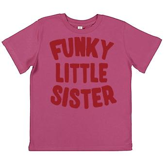 Spoilt Rotten Funky Little Sister Children's T-Shirt