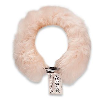 Nordvek Elasticated Genuine Sheepskin Headband Head Band Ladies Womens 510-100