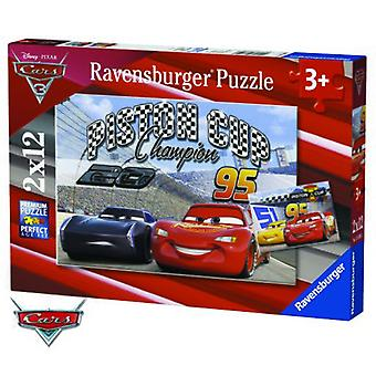 Ravensburger 2X12 Pieces  Dca: Cars 3 (Toys , Boardgames , Puzzles)