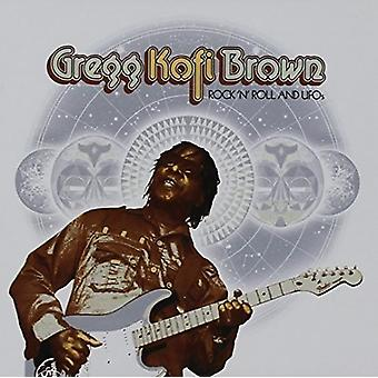 Gregg Kofi Brown - Rock N Roll & ufoer Gregg Kofi Brown antologi [CD] USA import