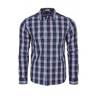 Wrangler long sleeve 1 Pocket Shirt shirt men's multi coloured check shirt W57604L6U
