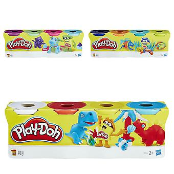 Play Doh Colour Classic Tubs 4 Pack - 1 Pack Supplied, Chosen at Random