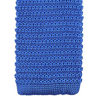 Knightsbridge Neckwear Knitted Tie - Royal Blue