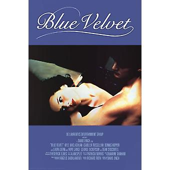 ブルー ベルベット - 映画スコア ポスター ポスター印刷
