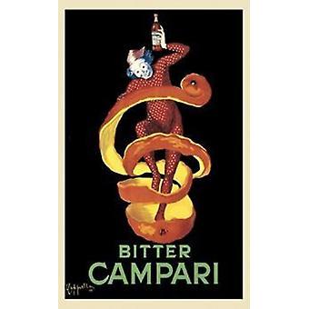 Bitter Campari Poster Poster Print by Leonetto Cappiello