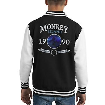 Monkey Island Pirate School Kid's Varsity Jacket