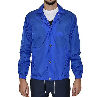 Comme des Garçons men's S24923B light blue nylon jacket