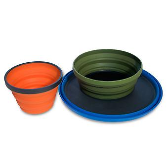 Sea to Summit Folding X-Bowl Lightweight Cooking Equipment for Camping