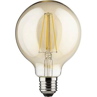 LED E27 Globe 8 W = 66 W Gold (Ø x L) 95 mm x 140 mm EEC: A++ Müller Licht dimmable, Filament 1 pc(s)