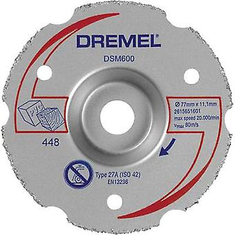 DREMEL® DSM20 Multipurpose Carbide Flush Cutting Wheel (DSM600) Dremel 2615S600JA Di