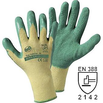 Leipold + Döhle 1492SB Green Grip glove Knit glove with Latex coating