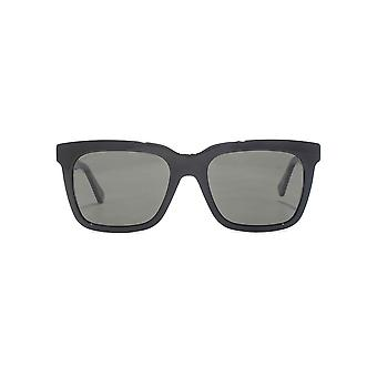 Gucci Star Rivet Square Sunglasses In Black Polarised