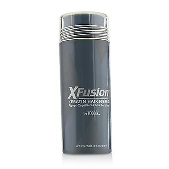 XFusion Keratin Hair Fibers - # Black 28g/0.98oz