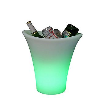 Champagne bucket with LED light