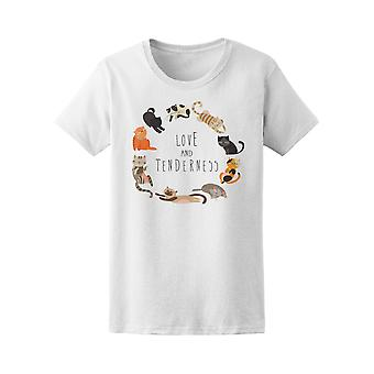 Family Of Cats Tee Women's -Image by Shutterstock