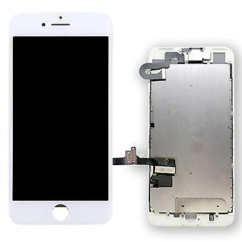 All-in-one display LCD complete unit touch panel for Apple iPhone 7 plus 5.5 inch white pre-assembled