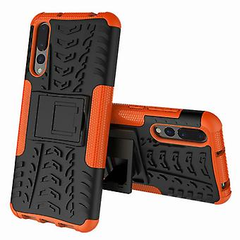 For Huawei P20 per hybrid case 2 piece SWL outdoor Orange Pouch Pocket sleeve cover protection